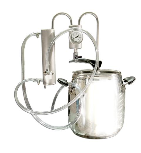 5L Destilátor, Palírna, Lihovarník, Vinopalník kompletní s nejlepší chlazení + osazovač