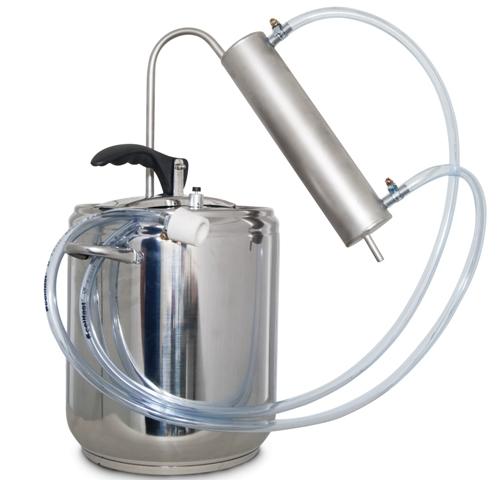 5L Destilátor, Palírna, Lihovarník, Vinopalník kompletní s nejlepší chlazení