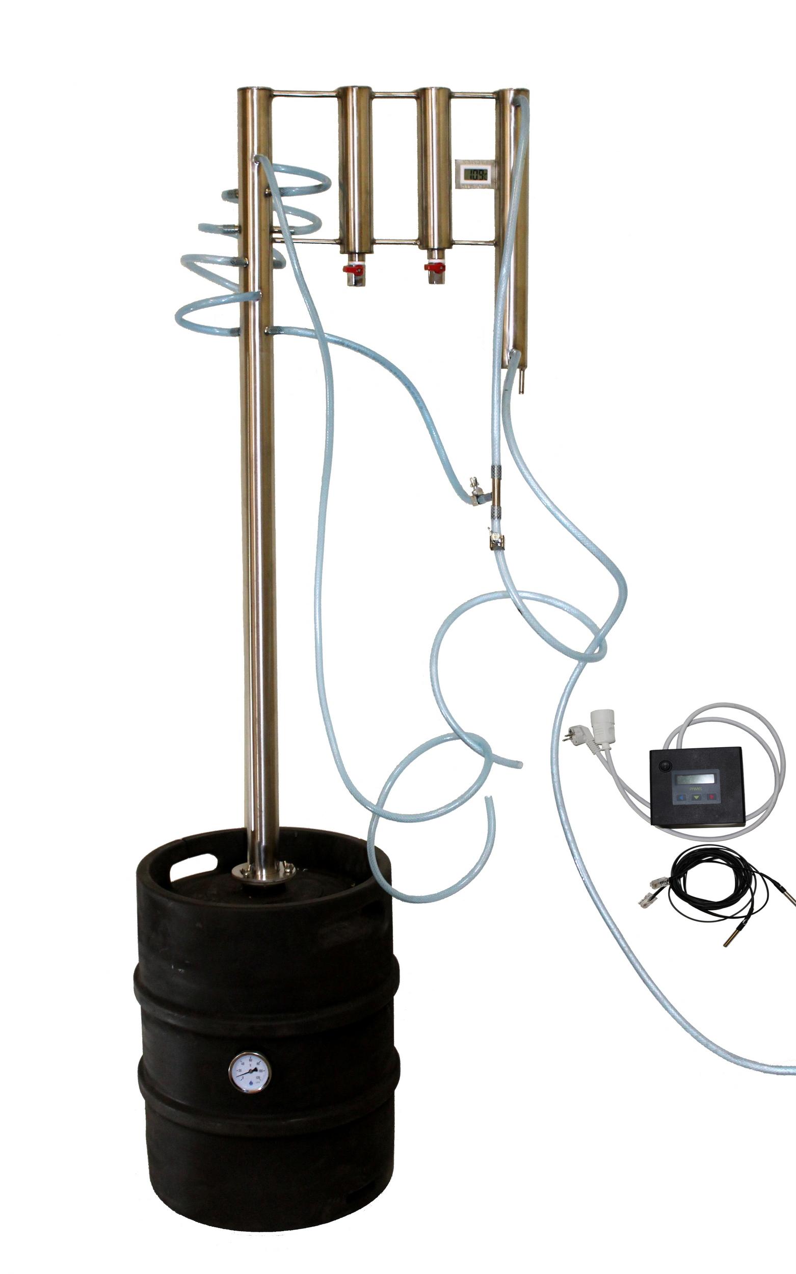 Automatický elektrický destilátor, Palírna, Lihovarník, Vinopalník Destilační přístroj