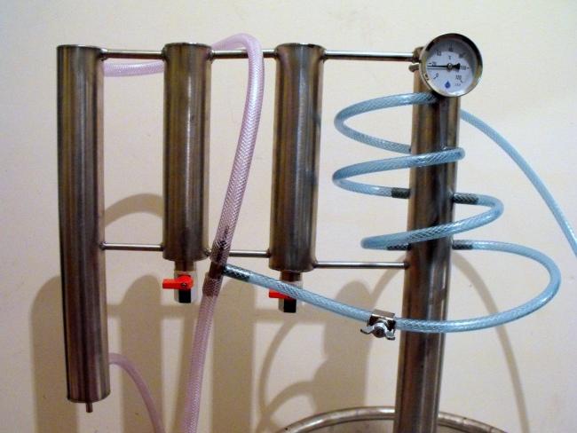 Destilační přístroj Destilátor, Palírna, Lihovarník, Vinopalník