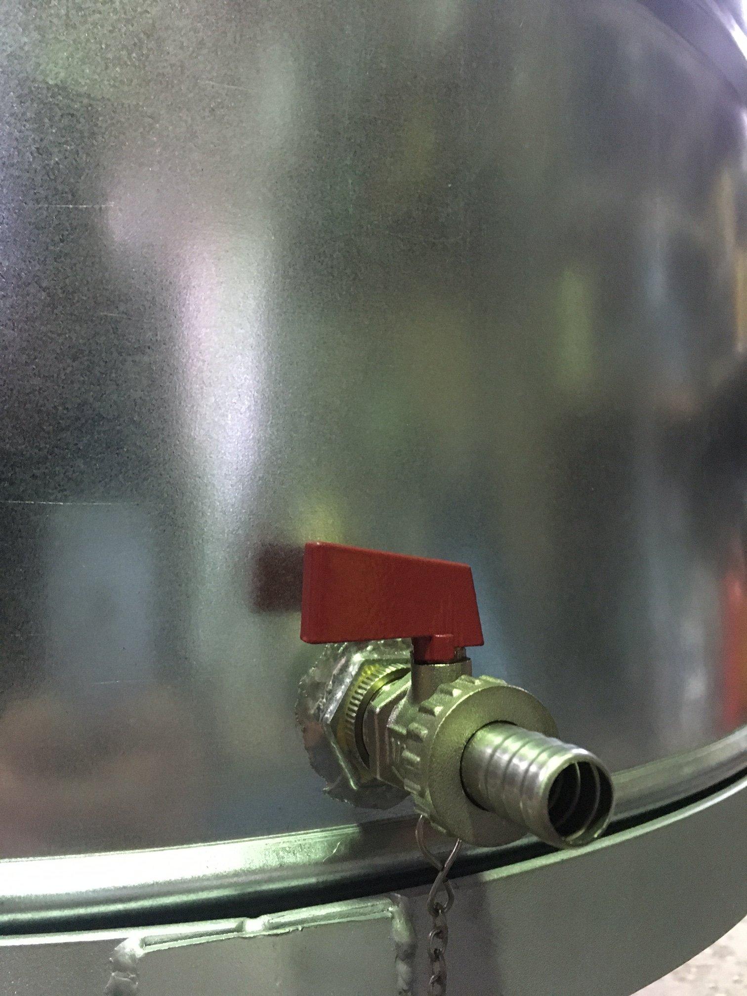 měděné palírny KAZAN o objemu 60 litrů