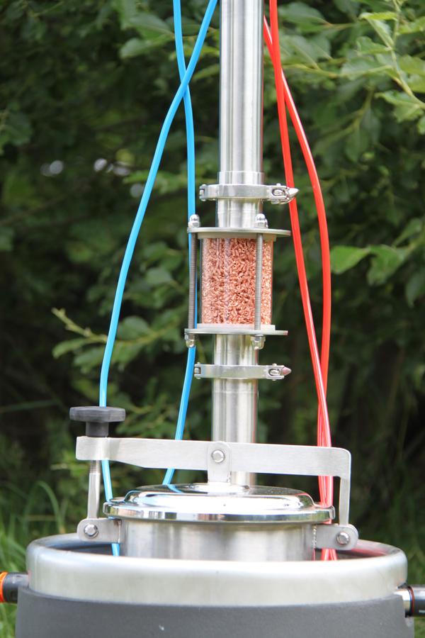 Dvouplášťový Destilační přístroj Fiedor - 1