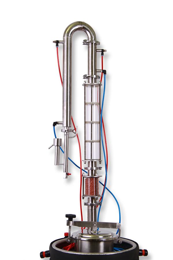 Dvouplášťový Destilační přístroj 50L