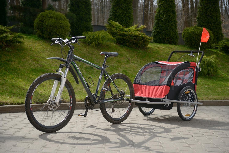 Přívesný vozík za kolo pro 2 osoby JOGGER
