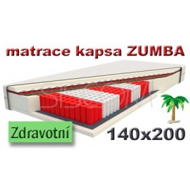 Matrace ZUMBA kokos 140x200 cm
