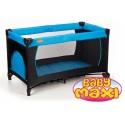 Cestovní postýlka a ohrádka pro děti BASIC BABY MAXI blue
