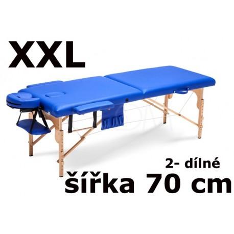 Masážní Lehátko 2- dílné XXL - 70cm