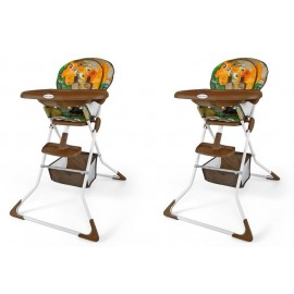 Dětská jídelní židlička MINI jungle