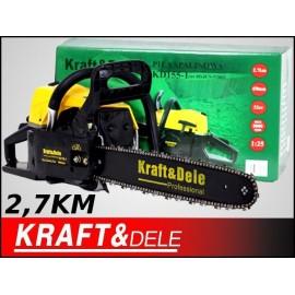Motorová pila Benzínová Kraft&Dele 2,7 HP 2kW