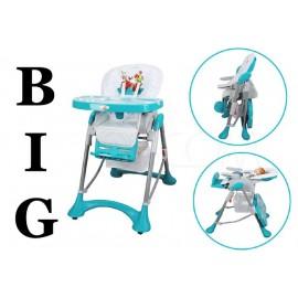 Jídelní židlička BIG regul. opěradla do leže