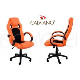Kancelářské křeslo Kancelářské židle XRacer PRO oranžové