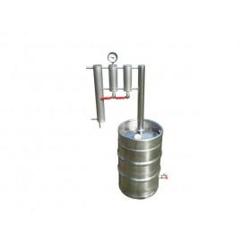 Destilační přístroj Destilátor, Palírna, Lihovarník, Vinopalník - Automatický elektrický 30 - 50 L