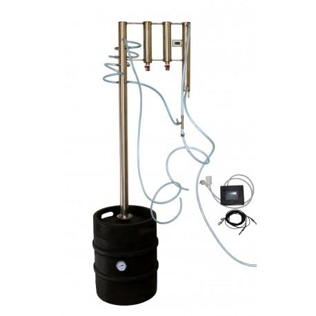Destilační přístroj Destilátor, Palírna, Lihovarník, Vinopalník - Automatický elektrický