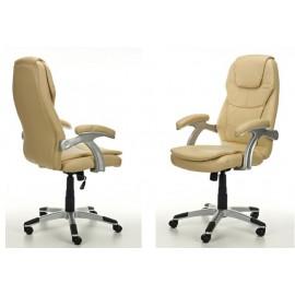 Kancelářské křeslo Kancelářské židle THORNET barva béžová