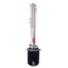 Dvouplášťový automatický destilační přístroj Destilátor, Palírna, kolona - Automatický elektrický, spodní plášť